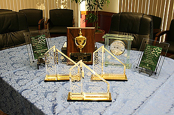 Awards received in recent years